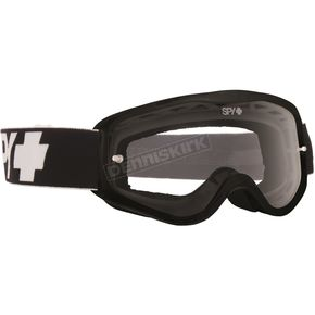 Spy Optic Youth Black Cadet Goggle w/Clear AFP Lens - 323347038100
