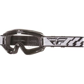Fly Racing Black Focus Goggles - 37-3000