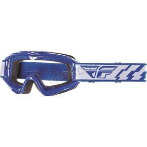 Fly Racing Blue Focus Goggles - 37-3001