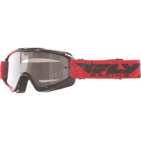 Fly Racing Youth Red/Black Zone Goggles - 37-3025
