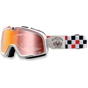 100% Osfa Barstow Classic Goggle w/Mirror Red Lens - 50002-182-02