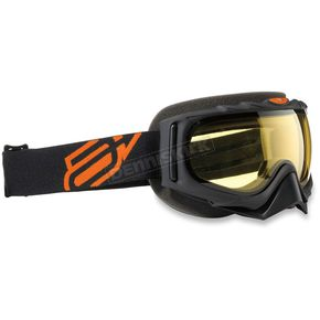 Arctiva Black/Orange Vert Comp 2 Goggles - 2601-2109