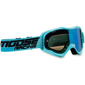 Moose Blue Qualifier Shade Goggles - 2601-2113