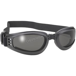 Nomad Folding Goggles w/Polarized Smoke Lens - 45209