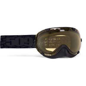 509 Whiteout Aviator Goggles w/Polarized Yellow Lens - 509-AVIGOG-16-WO