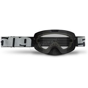 509 Black Kingpin Goggles w/Clear Lens - 509-KINGOG-17-BK