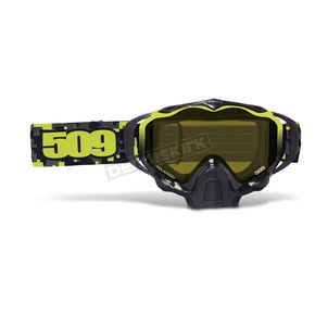 509 Lime Camo Sinister X5 Goggles w/Polarized Yellow Lens - 509-X5GOG-16-LC
