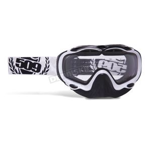 509 Youth White Sinister Goggles - 509-SINGOGY-13-WH