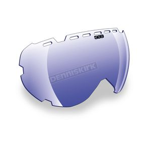 509 Blue Mirror/Blue Tint Replacement Lens for Aviator Goggles - 509-AVILEN-13-BB