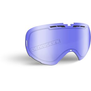 509 Blue Mirror/Blue Tint Replacement Lens for Revolver Goggles - 509-REVLEN-17-BB