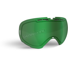 509 Green Mirror/Yellow Tint Replacement Lens for Revolver Goggles - 509-REVLEN-17-GY
