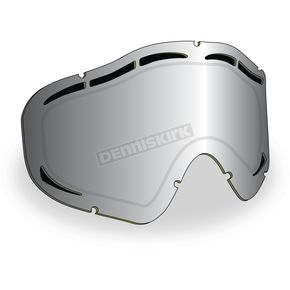 509 Chrome Mirror/Yellow Tint Maxvent Replacement Lens for Sinister X5 Goggles - 509-X5LEN-15-HCY
