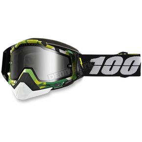 100% Racecraft Bootcamp Snow Goggle w/Dual Mirror Silver Lens - 50113-194-02
