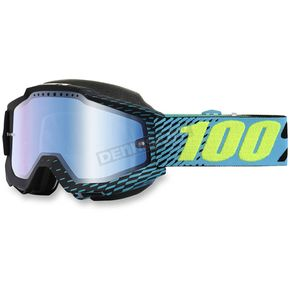 100% Accuri R-Core Snow Goggles w/Mirror Blue Lens - 50213-201-02