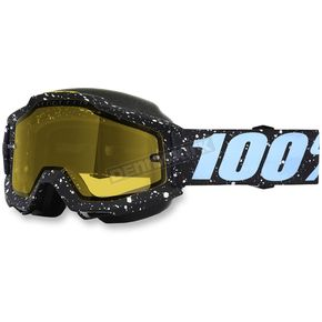 100% Accuri Milkyway Snow Goggles w/Yellow Lens - 50203-196-02