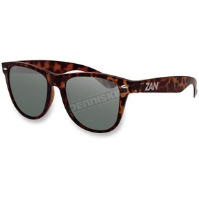 Zan Headgear Brown Tortoise Minty Sunglasses w/Smoke Lens - EZMT02