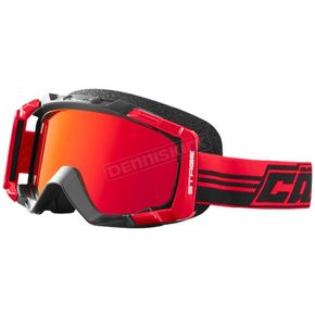 Castle X Red Stage Blackout OTG Snow Goggle w/Mirror Red Lens - 64-1881