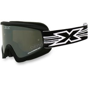 EKS Brand Black GOX Flat Out Goggles w/Mirror Lens - 067-10365