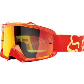 Fox Red/Yellow/Orange Spark Air Space 360 Race Goggles - 06334-910-OS