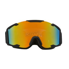 CKX Matte Black/Revo Red Ghost Dual Lens Snow Goggle - GOG YH90/BK M/DL RR