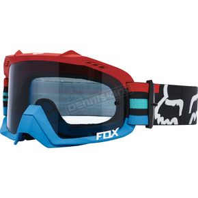 Fox Gray/Red Air Defence Seca Goggles - 18429-037-NS