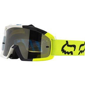Fox Youth White/Yellow Air Space Creo Goggles - 18432-214-NS