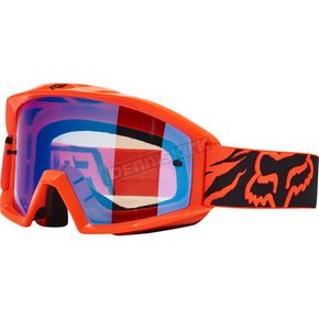 Fox Orange Main Race Goggles - 18433-009-NS