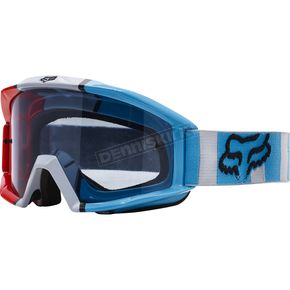 Fox Gray/Red Main Falcon Goggles - 18434-037-NS