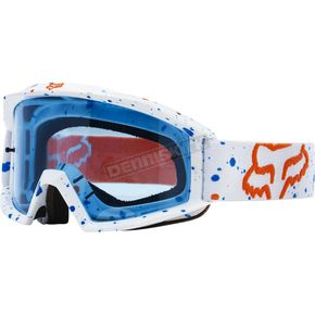 Fox White Main Nerv Goggles - 18435-008-NS