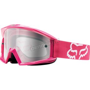 Fox Pink Main Sand Goggles w/Gray Lens - 19828-170-OS
