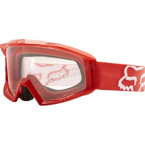 Fox Youth Red Main Goggles - 19830-003-NS
