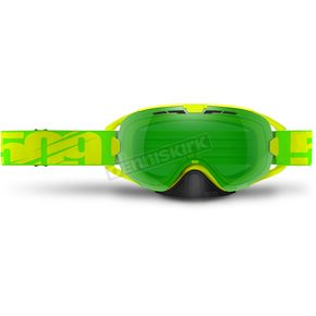509 Neon Lime Limited Edition Revolver Goggles w/Lime Tint Lens - 509-REVGOG-17-NL