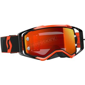 Scott Black/Fluorescent Orange Prospect Goggles w/Orange Chrome Lens - 246428-5402280