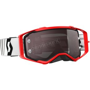 Scott Red/Black Prospect Goggles w/Silver Chrome Lens - 246428-1018269