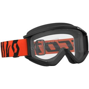 Scott Black/Fluorescent Orange Recoil XI Goggles w/Clear Lens - 246485-5402113