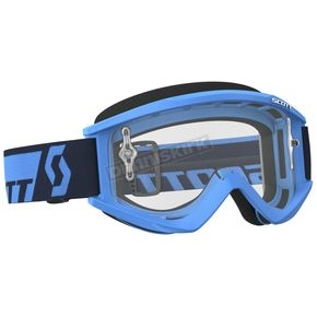 Scott Blue Recoil XI Goggles w/Clear Lens - 246485-0003113