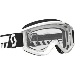 Scott White Recoil XI Goggles w/Clear Lens - 246485-0002113