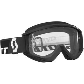 Scott Black Recoil XI Goggles w/Clear Lens - 246485-0001113