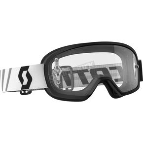 Scott Youth Black Buzz Goggles w/Clear Lens - 246435-0001113