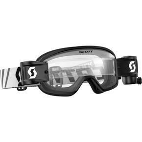 Scott Youth Black Buzz WFS Goggles w/Clear Lens - 246436-0001113