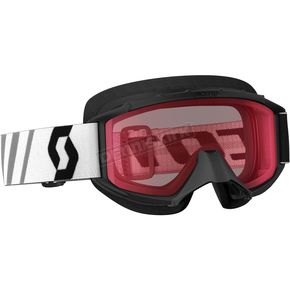 Scott Youth Black 89Si Snowcross Goggles w/Rose Lens - 246441-0001108