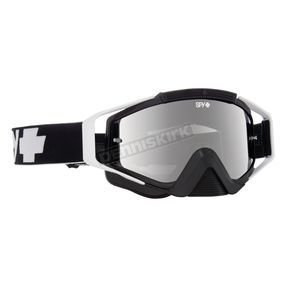 Spy Optic Black Omen Goggle w/Smoke/Silver Mirror Lens - 323129853855