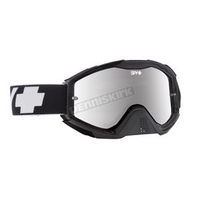 Spy Optic Black Klutch Goggle w/Smoke/Silver Mirror Lens - 322017853855