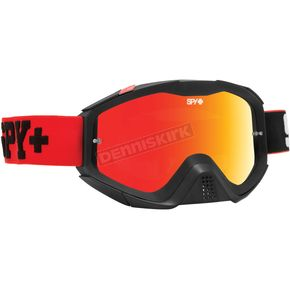 Spy Optic Jersey Red Klutch Goggle w/Smoke/Red Spectra Lens - 322017465856