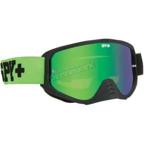 Spy Optic Jersey Green Woot Race Goggle w/Smoke/Green Spectra Lens - 323346476857
