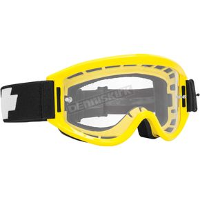 Spy Optic Yellow Breakaway Goggle w/Clear Lens - 323291661100