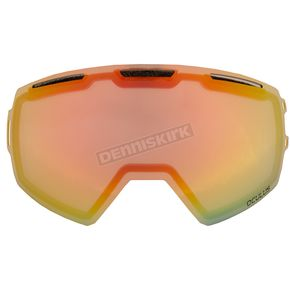 Klim Light Smoke Red Mirror Replacement Double Lens for Oculus Goggles - 3891-000-000-002