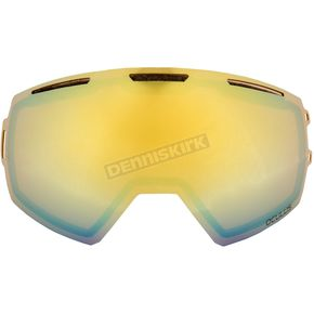 Klim Bronze Gold Mirror Replacement Double Lens for Oculus Goggles - 3891-000-000-003