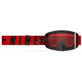 509 Red Kingpin Goggles w/Rose Tint Lens - 509-KINGOG-18-RD
