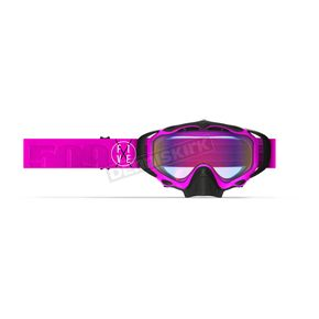 509 Pink Sinister X5 Goggles w/Fire Mirror Lens - 509-X5GOG-18-PI
